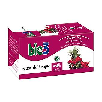 Bie 3 Forest Fruits 25 infusion bags of 1.5g