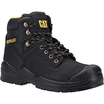 Caterpillar Mens Striver S3 Lace Up Leather Safety Boots