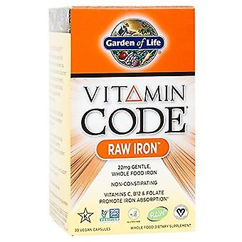 Garden of Life vitamin kode 30 kapsler
