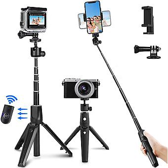 HanFei Bluetooth-Stativ-Selfie-Stick mit Fernbedienung fr iPhone X,8,7,Galaxy Note 8,S9