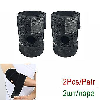 Tcare unisex elbow support elastic & breathable elbow brace with adjustable compression strap for tendonitis prevention recovery