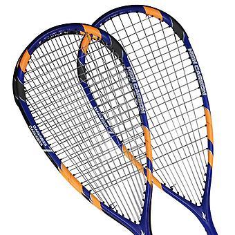 2pc / lote Fangcan professional squash raqueta con caja y bola de calabaza 100%