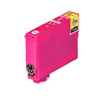 1 Magenta blækpatron til at erstatte Epson 502XLM Kompatibel/ ikke-OEM fra Go Inks