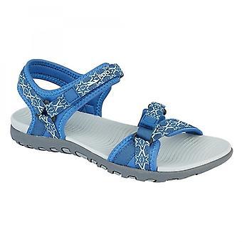 PDQ Chloe Ladies Neoprene Twin Touch Fastening Sandal Blue