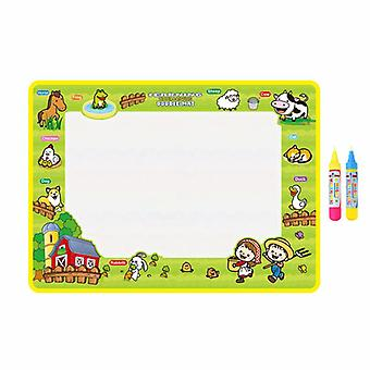 Magic doodle mat educational kids water drawing toys gift kt-16