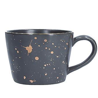 Gisela Graham Dark Grey Artisan Mug
