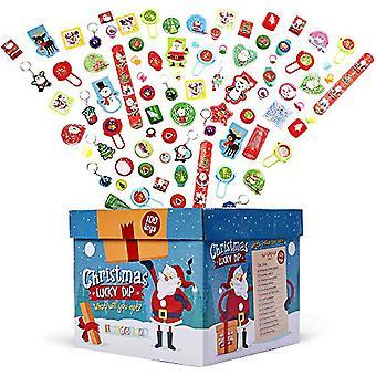 FengChun 100 Stck Kinder Weihnachten Party Mitgebsel Spielzeug| Riesige Auswahl fr Jungen  Mdchen|