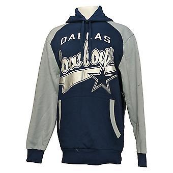 NFL Dames Trui Dallas Cowboys Pullover Hoodie Blauw A382710