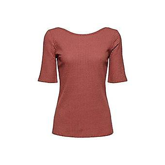 edc av Esprit 041CC1K317 T-Shirt, 649/Coral 5, Stor kvinna