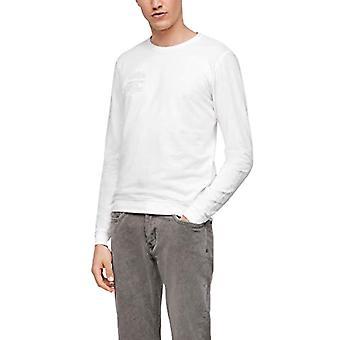 s.Oliver 130.10.012.12.130.2055978 T-Shirt, White, L Man