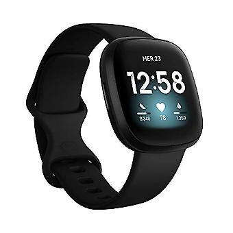 Fitbit Versa 3 Wellness and Fitness Smartwatches with Built-in GPS, Continuous Heart Rate Detection, Ref Assistant. 0811138039813