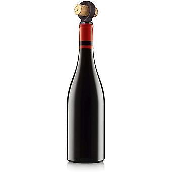FengChun Flaschenstopfen 2er Set Flaschenverschluss, braun, 1