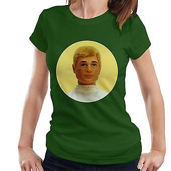 Action Man Blonde Hair Kvinnors T-Shirt