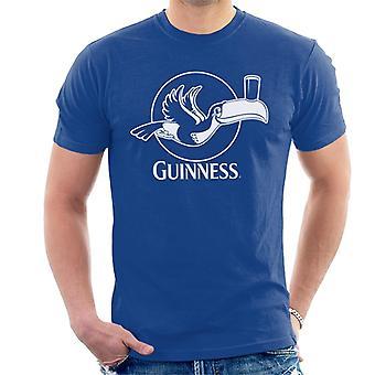 Guinness Toekan vliegen met pint mannen T-shirt