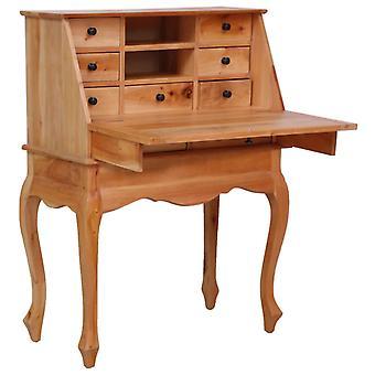 vidaXL Secretary 78×42×103 cm Massief hout mahonie