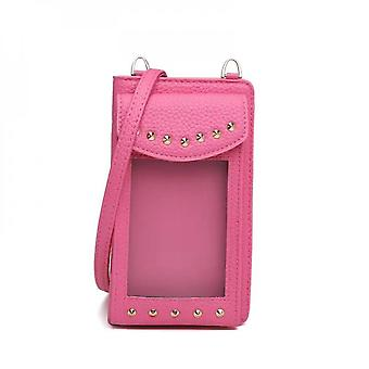 Mobile Leather Bag For Women