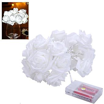 3m rose string lichten simulatie bloem LED fairy licht snaren bruiloft kerstdecoratie