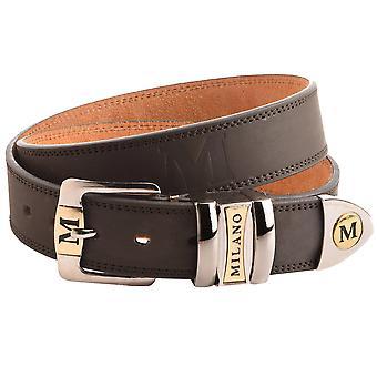 حزام مكتنز 35 ملم جلدي للرجال