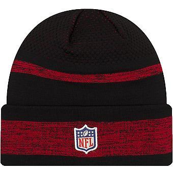 New Era San Francisco 49ers NFL Sideline Tech 2021 Cuff Beanie Hat - Red