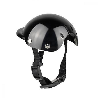 Plastic Adjustable Safety Helmet For Pet Supplies, Suitable For Small And Medium-sized Cats And Dogs A