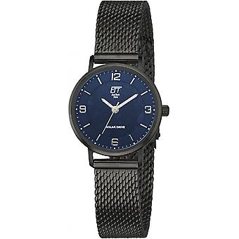 ONE (Eco Tech Time) Black Stainless Steel ELS-12084-32M Women's Watch