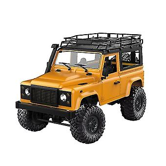 Robotic toys 1set 2 type model d90 1:12 scale rc crawler car 2.4G 4wd remote control truck toys unassembled kit
