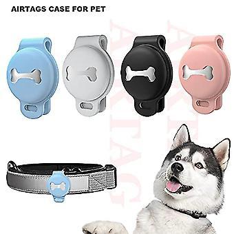 Psí límec pouzdro pro airtag, držák proti poškrábání pro airtagy Pet Collar, ochranné pouzdro pro kočičí límec