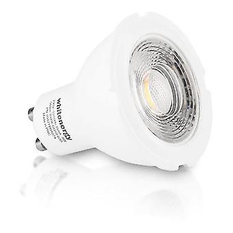 Whitenergy GU10 LED MR16 Light Bulb Single Pack 8W 230V  White Warm 60 Degree