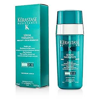 Kerastase Resistance Serum Therapiste Dual Treatment Fiber Quality Renewal Care (extremely Damaged Lengths And Ends) - 30ml/1.01oz