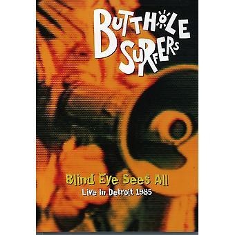 Butthole Surfers - blinda öga ser alla Live 1985 [DVD] USA import