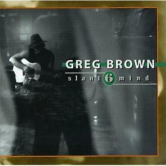 Greg Brown - Slant 6 sinne [CD] USA import
