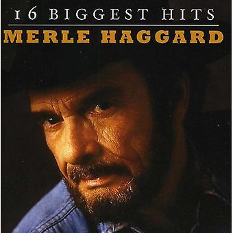 Merle Haggard - 16 plus grands succès [CD] USA import