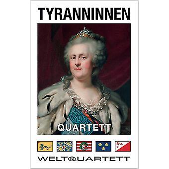 Tyranninnen Kwartet dictator dictators grap kaartspel
