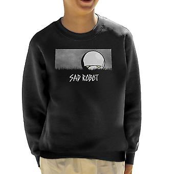Triest Robot Marvin Hitchhikers Guide To The Galaxy Kid's Sweatshirt