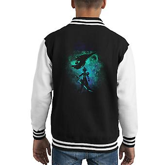 Ex Soldier Art Cloud Strife Final Fantasy 7 Kid's Varsity Jacket