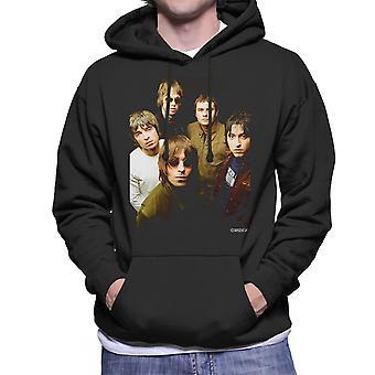 Oasis-bandet fotografera Mäns Hooded Sweatshirt