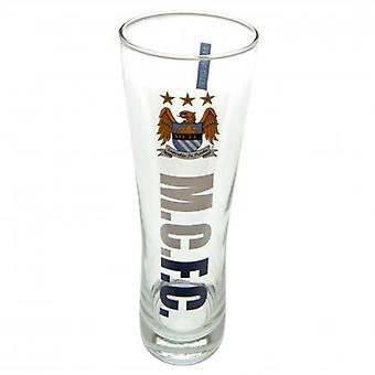 Manchester City hoog bierglas EG