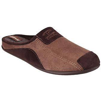 Cotswold Mens Westwell Slipper Brown
