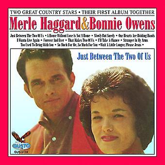 Haggard/Owens - mellom the to av oss [DVD] USA import