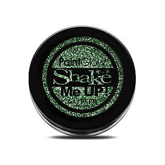 Make up and eyelashes  Glitter makeup powder green 5g