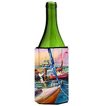 Vela púrpura botella de vino bebidas aislador Hugger