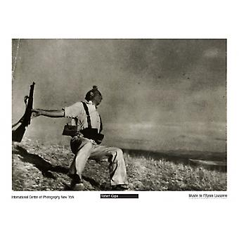 Loyalist Soldier Spanish Civil War 1938 Poster Print by Robert Capa (28 x 20)