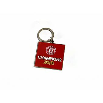 Manchester United FC Official Football Champions 2013 Keyring