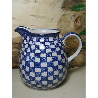Pichet, 1000 ml, hauteur : 16 cm, 27 - tradition polonaise poterie - BSN 7708