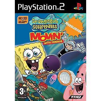 Spongebob and Friends Movin (PS2) (Eye Toy) - Neue Fabrik versiegelt