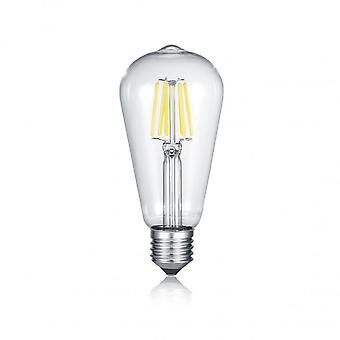 Трио, освещение колбу современных алюминиевых цвет металла источник света