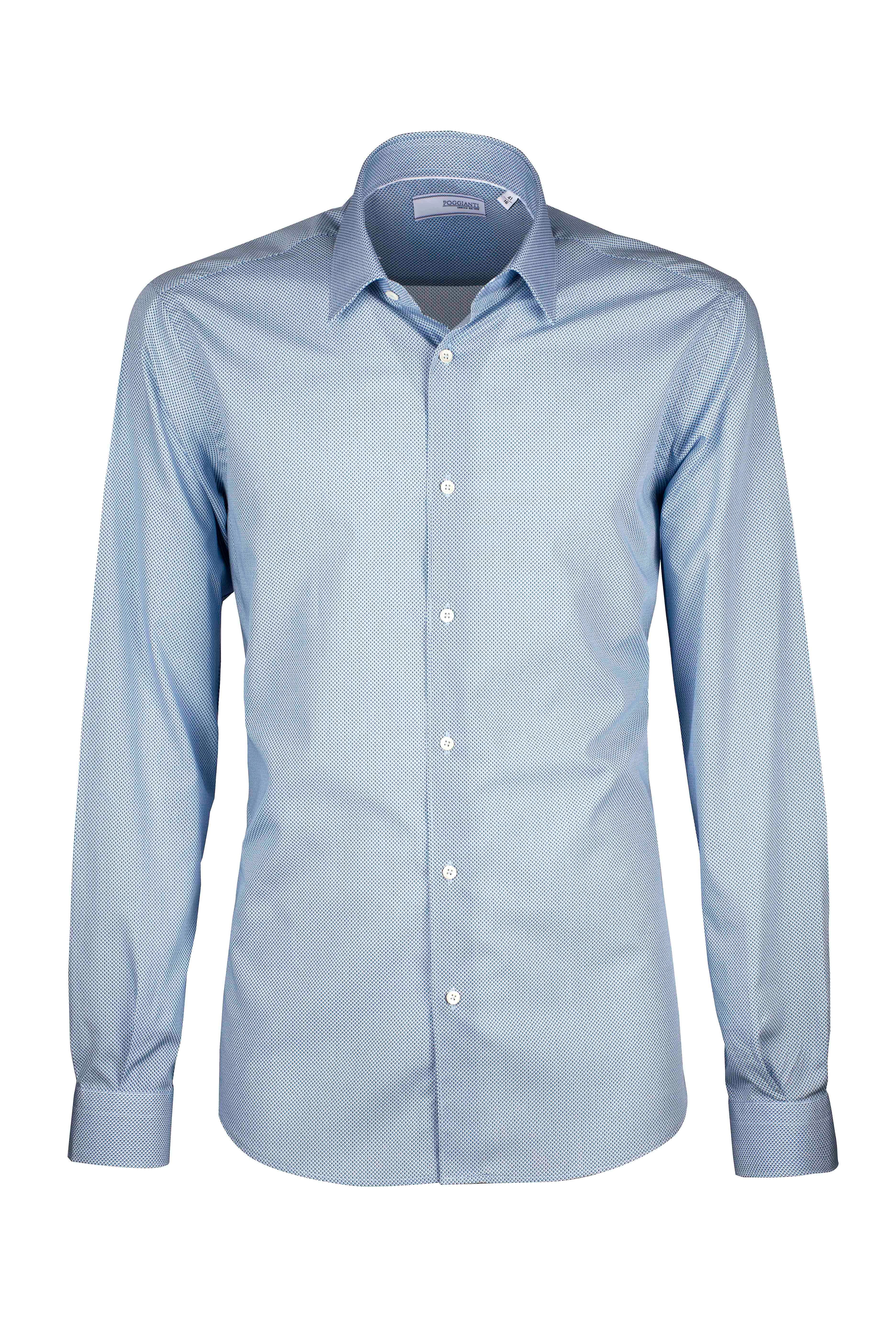 Fabio Giovanni Carabella Shirt - Geometric Print - High Quality Italian Casual Shirt