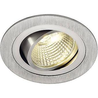 Nye Tria 113906 LED forsænket lys 6.6 W varm hvid Aluminium (børstet)