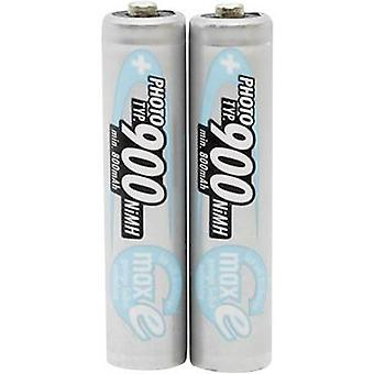 Ansmann Photo maxE HR03 AAA battery (rechargeable) NiMH 900 mAh 1.2 V 2 pc(s)