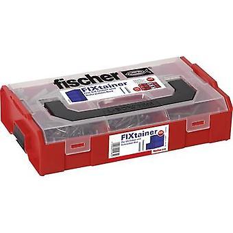Fischer 532891 Los enchufes FIXtainer-SX y Schrauben-Box Content 210 Parts
